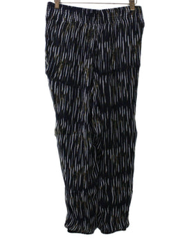 IRO Black White Striped Pants 1