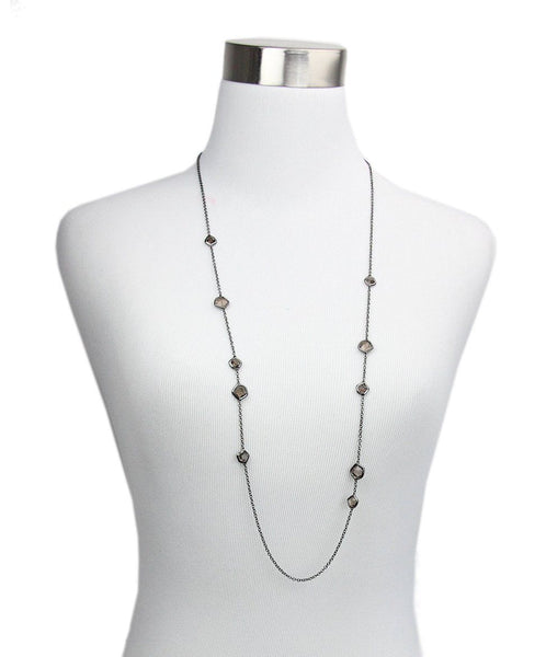 Ippolita Black and Rhodium Necklace 1