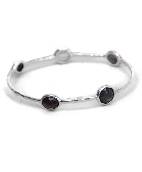 Ippolita Purple Grey Black Stone Bracelet 1