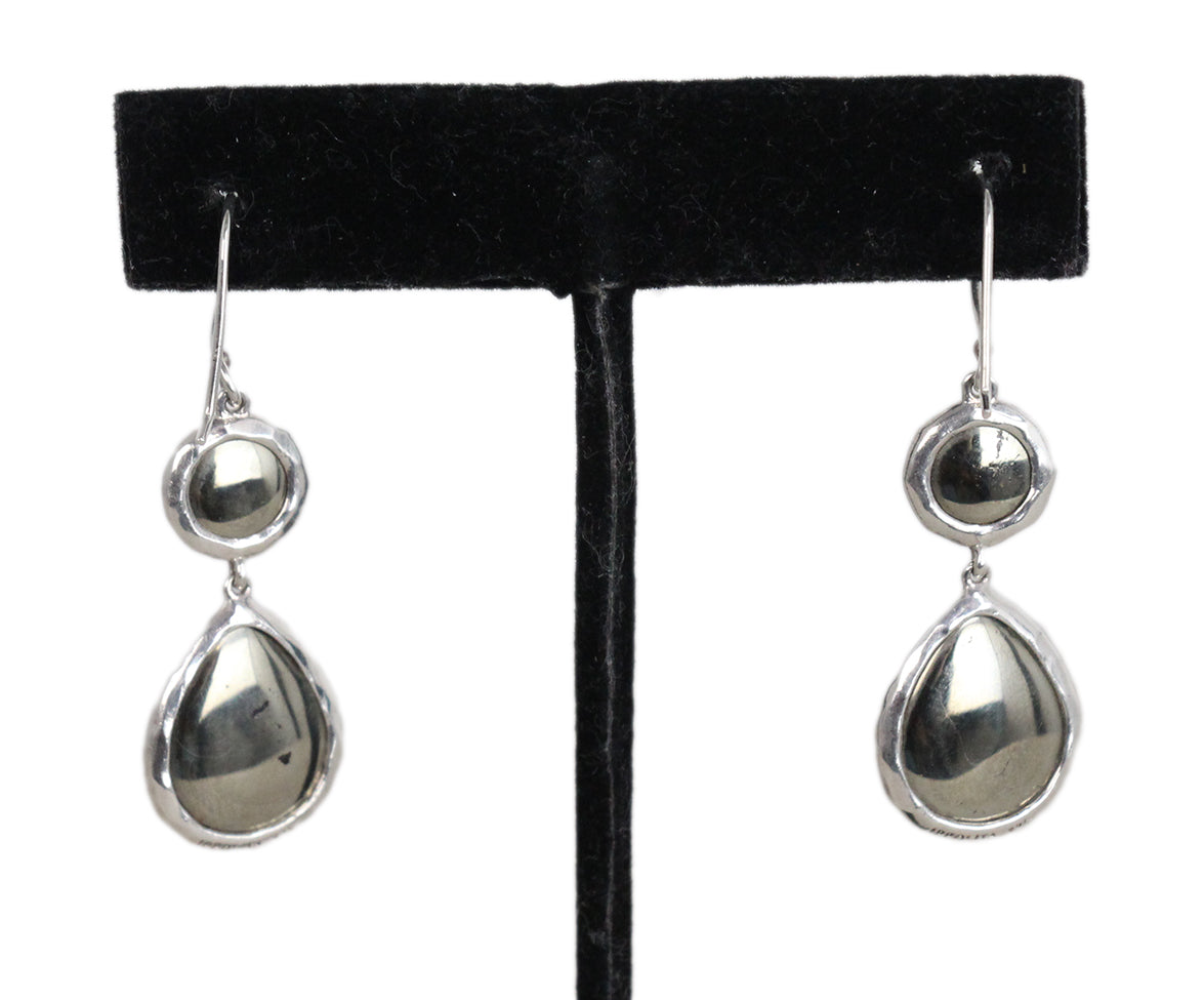 Ippolita Sterling silver Blue topaz earrings 2