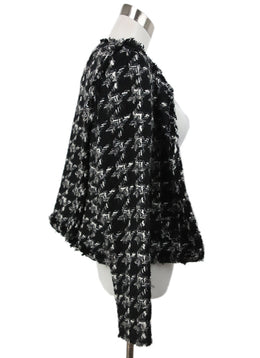 IRO Black White Grey Tweed Wool Jacket 2
