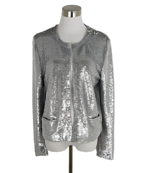 IRO Silver Sequins Jacket 1