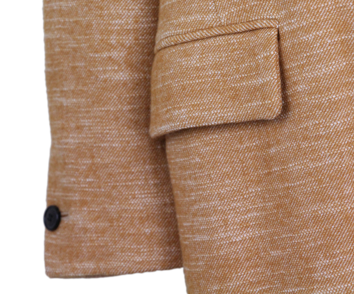 Isabel Marant Orange tan Wool coat 6