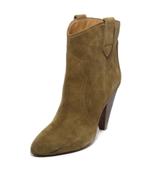 Isabel Marant Tan Suede Booties 1