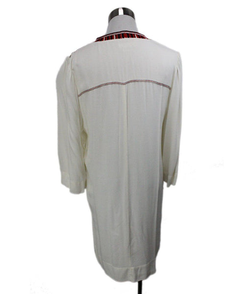 Isabel Marant White Red Black Viscose Dress 3