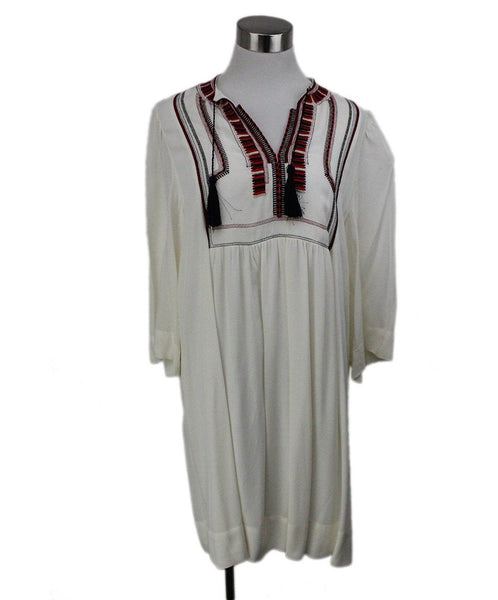 Isabel Marant White Red Black Viscose Dress 1