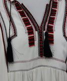 Isabel Marant White Red Black Viscose Dress 5
