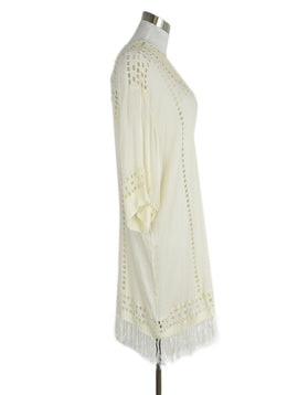 Isabel Marant Ivory Crochet Accent Dress sz. 6 | Isabel Marant