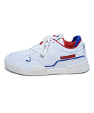 Isabel Marant White Leather Red Blue Trim Sneakers Sz. 38 | Isabel Marant
