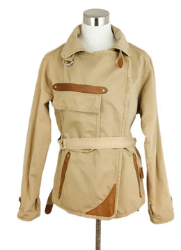 Isabel Marant Tan Cotton Jacket 1