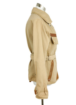 Isabel Marant Tan Cotton Jacket 2
