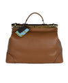 Tramontano Italy Neutral Tan Leather Doctor's Bag 1