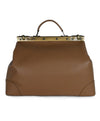 Tramontano Italy Neutral Tan Leather Doctor's Bag 3