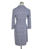 J. Mclaughlin Blue White Dot Print Dress 3