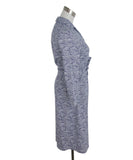 J. Mclaughlin Blue White Dot Print Dress 2