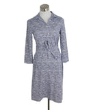 J. Mclaughlin Blue White Dot Print Dress 1