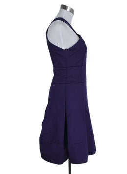 J. Mendel Size 2 Purple Silk Cotton Dress 2