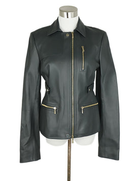 Jason Wu Grey Leather Zipper Detail Jacket 1