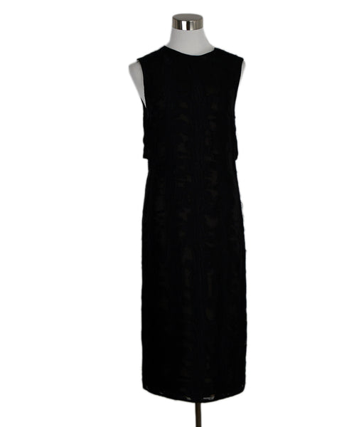 Jason Wu Black Viscose Silk Dress 1