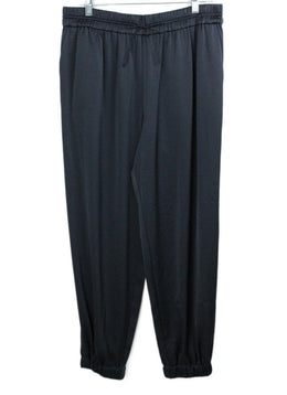 Jason Wu Blue Navy Silk Pants 1