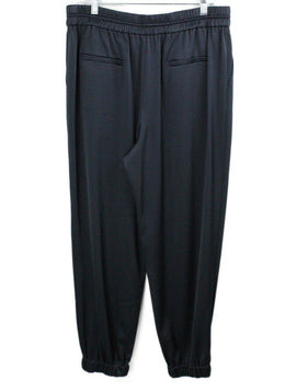 Jason Wu Blue Navy Silk Pants 2