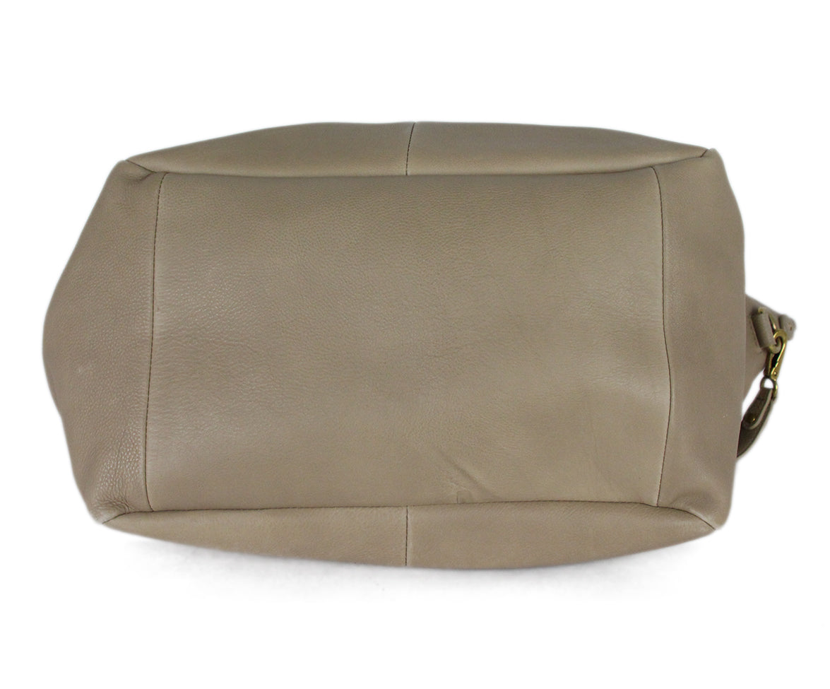 Jerome Dreyfuss Neutral Tan Leather Satchel  Handbag 4