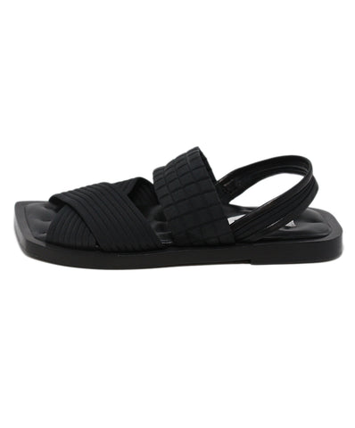 Jil Sander Black Nylon Sandals 1