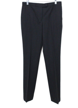 Jil Sander Black Wool Pants