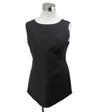 Jil Sander Black Wool Silk Top 1