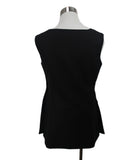 Jil Sander Black Wool Silk Top 3
