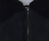 Jil Sander Black Shearling Coat Outerwear 5