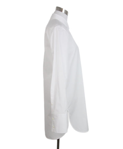 Jil Sander White Cotton Shirt 1