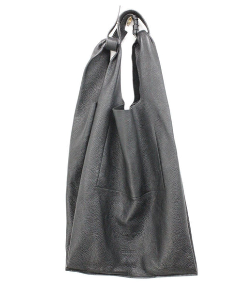 Jil Sander Black Leather Handbag 1