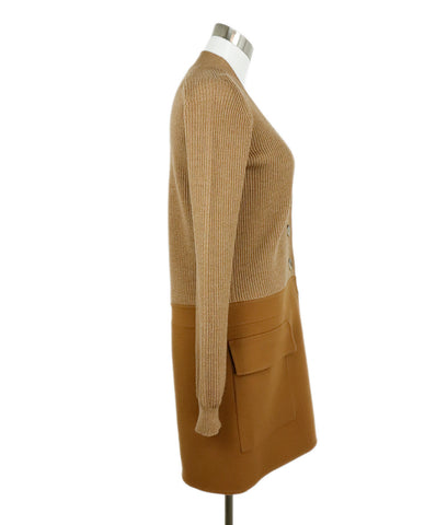 Jil Sander Brown Camel Wool Cashmere Sweater 1