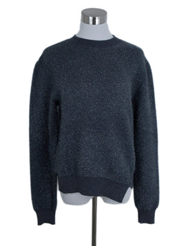 Jil Sander Grey Lurex Sweater 1
