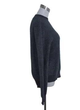 Jil Sander Grey Lurex Sweater 2