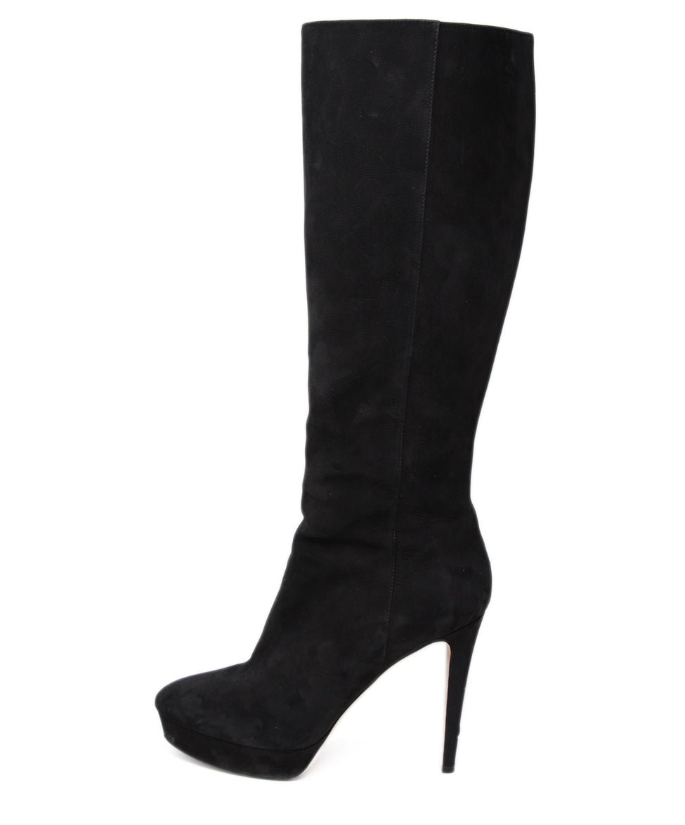 Jimmy Choo Black Suede Boots 2