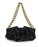 Jimmy Choo Brown Crocodile Handbag 3