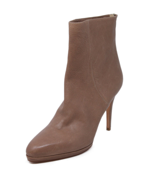 Jimmy Choo Neutral Tan Booties 1