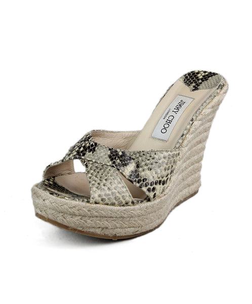 Jimmy Choo Phyton Hemp Wedge 1