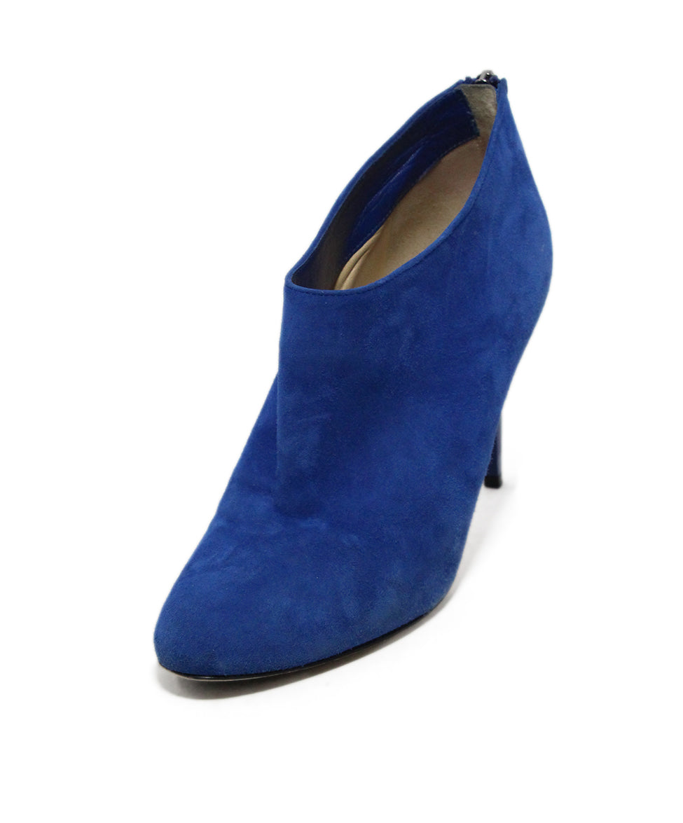 489e42ac41a Jimmy Choo US 7.5 Blue Royal Suede Shoes - Michael's Consignment NYC