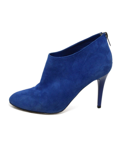 Jimmy Choo Royal Blue Suede Shoes 1
