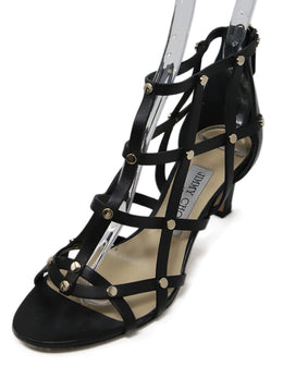 Jimmy Choo Black Leather Shoes 1