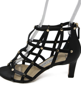 Jimmy Choo Black Leather Shoes 2