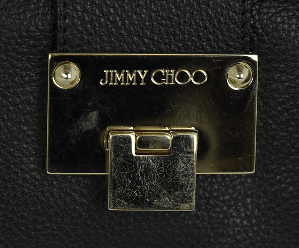 Jimmy Choo Black Leather Handbag | Jimmy Choo