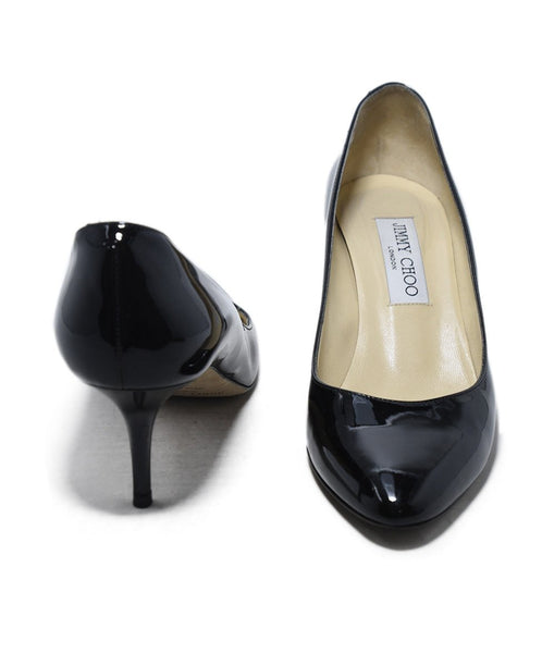Jimmy Choo Black Patent Leather Heels 3
