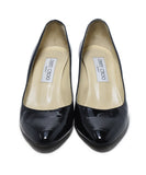 Jimmy Choo Black Patent Leather Heels 4