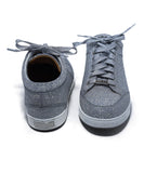 Jimmy Choo Metallic Silver Glitter Sneakers 3