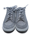 Jimmy Choo Metallic Silver Glitter Sneakers 4