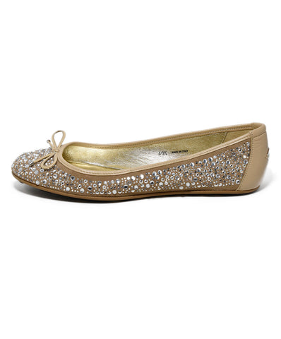 Jimmy Choo Metallic Silver Glitter Leather Heels 1